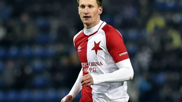 Útočník Milan Škoda fanouškům slíbil, že ve Slavii zůstane.