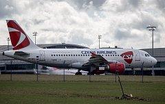 Letadlo ČSA.