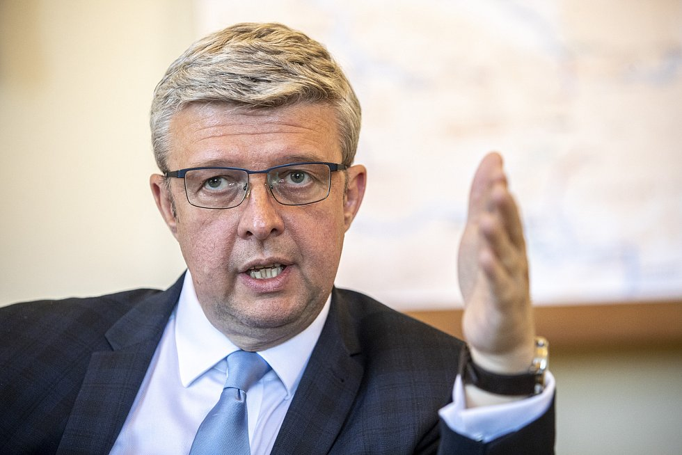 Vicepremiér a ministr dopravy a průmyslu a obchodu Karel Havlíček