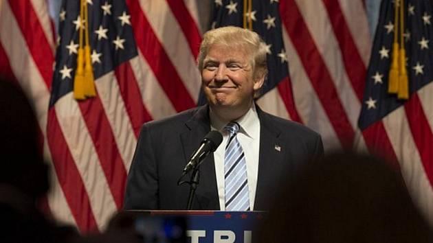 Příští americký prezident Donald Trump.