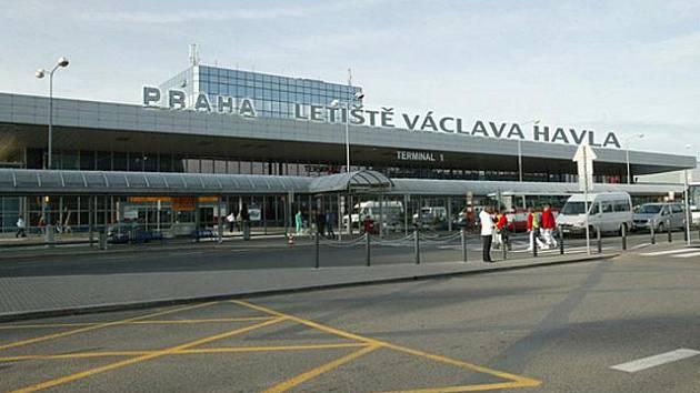 Vizualizace: Letiště Václava Havla v Praze.