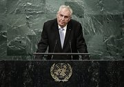 Miloš Zeman promluvil na půdě OSN