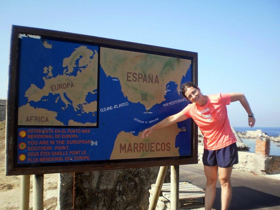 Abhejali Bernardová na Gibraltaru v roce 2013.