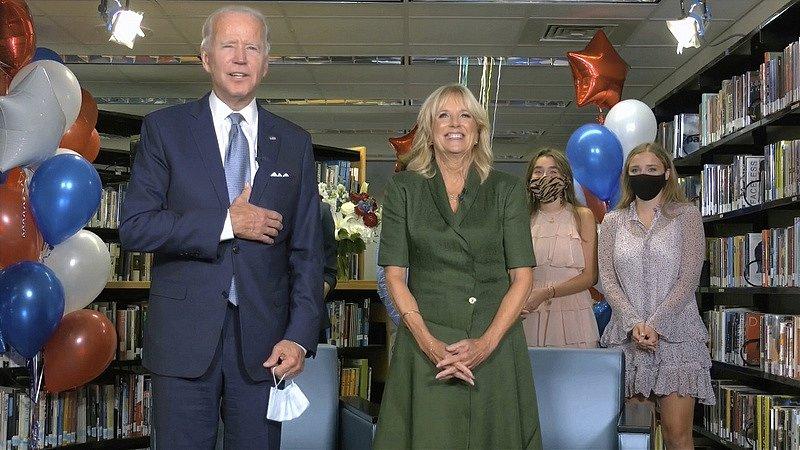 Joe Biden a jeho žena Jill