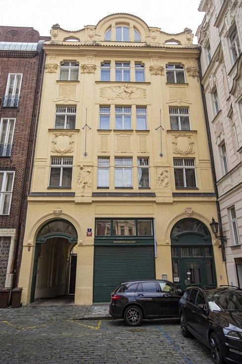 Byt Aleny Schillerové v pražské Salvátorské ulici
