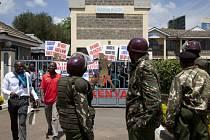 Skupina nespokojených keňských atletů obsadila sídlo národního svazu.