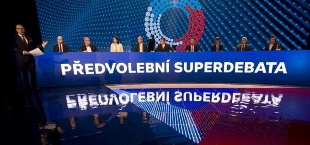 Převolební superdebata