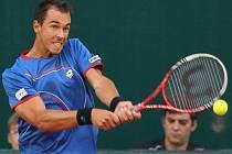 Lukáš Rosol v pozici české jedničky ve čtvrtfinále Davis Cupu.