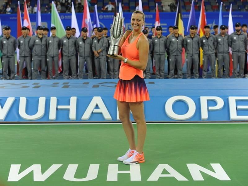 Petra Kvitová triumfovala na turnaji ve Wu-chanu.