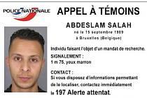 Komplic pařížských útočníků Abdeslam Salah