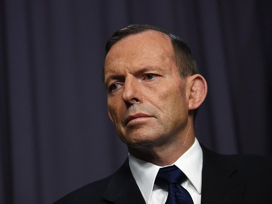 Australský premiér Tony Abbott