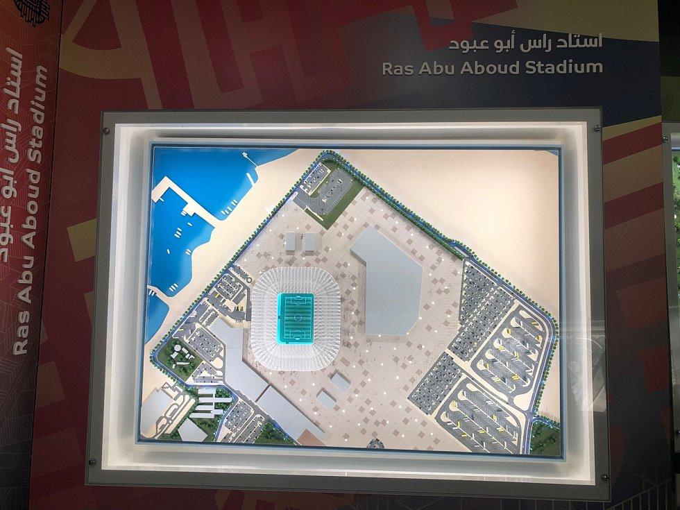 Ras Abu Aboud Stadium.