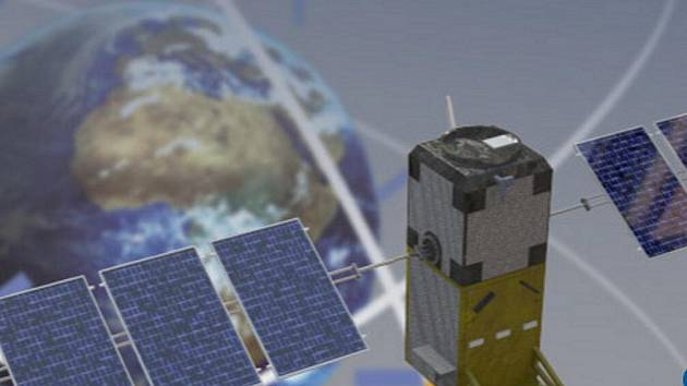 Navigační systém Galileo.