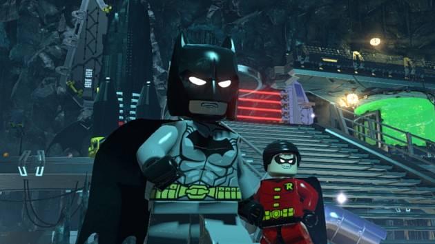 Počítačová hra Lego Batman 3: Beyond Gotham.