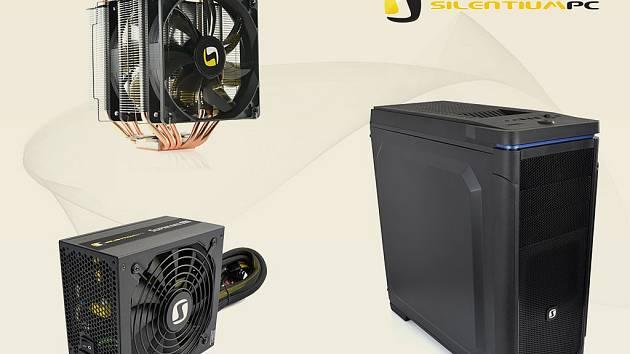 Drobné příslušenství ke stavbě PC, chladicí podložky pod notebook, ale hlavně chladiče CPU, zdroje a počítačové skříně. Takové je portfolio polské značky SilentiumPC.