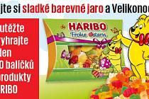 Vyhrajte jeden z 10 balíčků s produkty HARIBO.