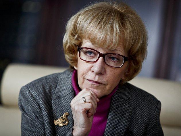 Ministryně spravedlnosti Helena Válková.