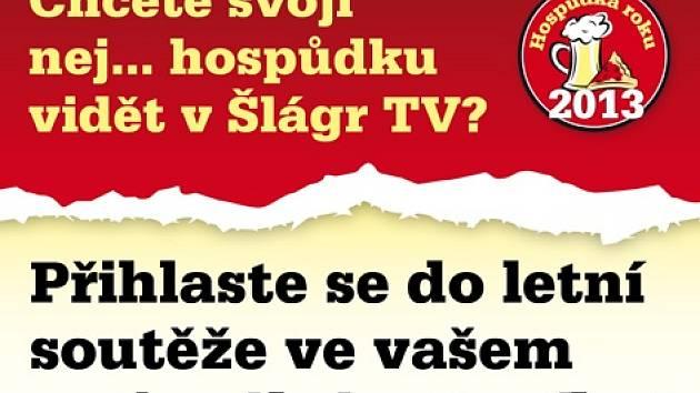 """Letní soutěž o nejoblíbenější """"hospůdku"""" čtenářů  regionálního Deníku."""