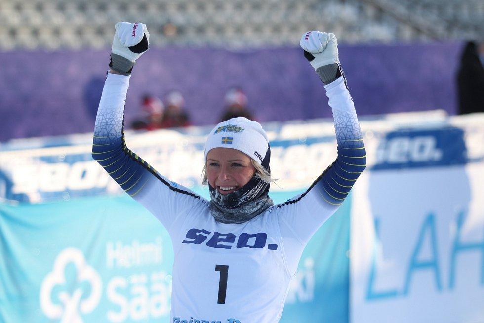 MSJ v běžeckém lyžování v Lahti - Frida Karslsson