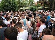 Demonstrace v Krasnodaru