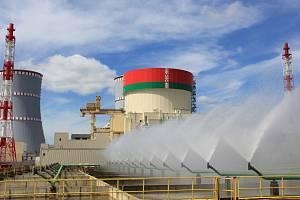 Jaderná elektrárna Astravets v Bělorusku