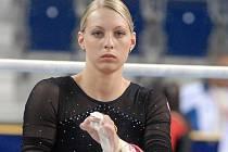 Sportovní gymnastka Jana Komrsková