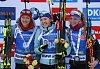Zleva: Monika Hojniszová, Julija Džymová, Markéta Davidová