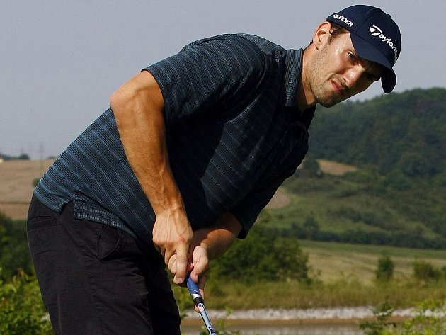 Michal Sivek rád relaxuje při golfu.