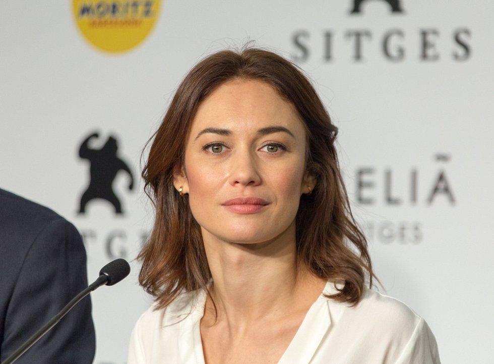 Ukrajinská herečka Olga Kurylenková