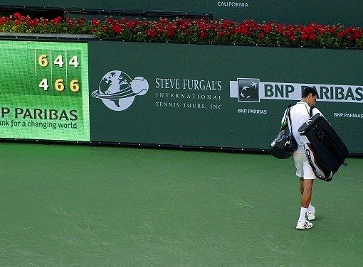 Novaka Djokoviče v Indian Wells zastavil ještě před finále Juan del Potro.