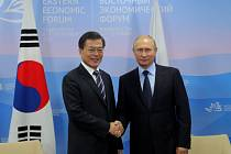 Schůzka ruského a jihokorejského prezidenta