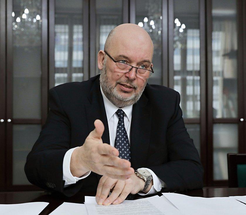 Ministr zemědělství Miroslav Toman.
