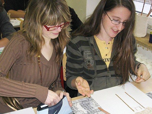 Studenti příbramského gymnázia