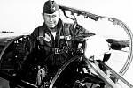 Letecká legenda Charles Elwood Yeager.