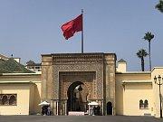 Královský palác v Rabatu. Současný vládce Maroka je Muhammad VI. Ten má po celé zemi k dispozici více než dvacítku sídel. V Rabatu jsou hned tři jeho paláce.
