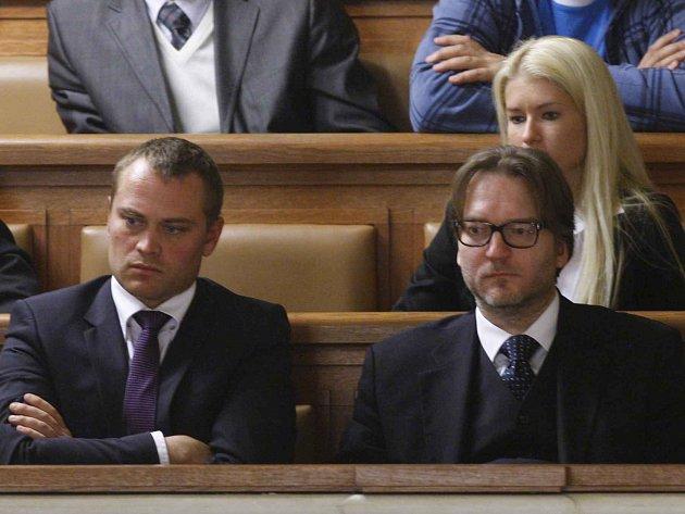 Rathovi obhájci Adam Černý a Roman Jelínek