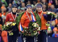 Martina Sáblíková vybojovala stříbrnou medaili.