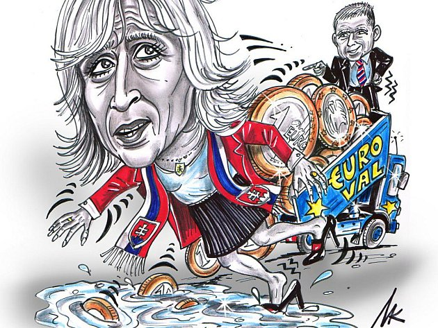 Pád vlády premiérky Ivety Radičové poté, co slovenský parlament neschválil posílení pravomocí záchranného fondu eurozóny.