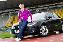 Barbora Špotáková jezdí vozem Seat