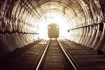 Tunel Ejpovice mezi Plzní a Prahou