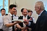 Prezident Miloš Zeman přijal čínské piloty