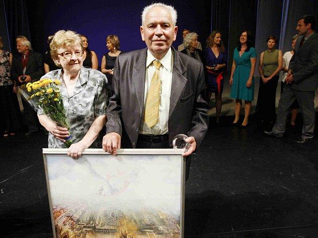 Manželé Šiflerovi vyhráli cenu Grand Prix Ď 21. června v Praze.
