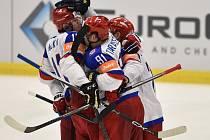Slovensko - Rusko: Radost hokejistů Ruska
