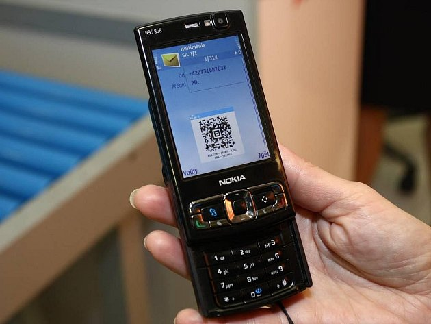 Mobil - ilustrační foto