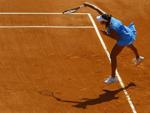 Srbská tenistka Ana Ivanovičová porazila Saru Erraniovou z Itálie.