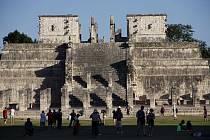 Mayský chrám. Ilustrační snímek