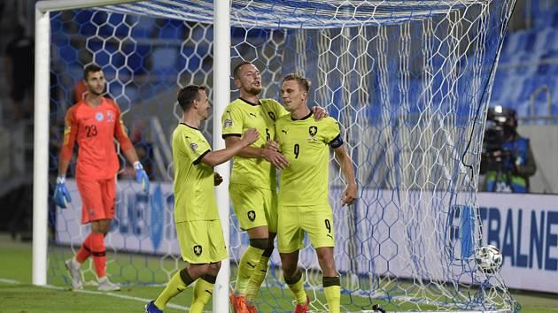 Utkání skupiny B2 fotbalové Ligy národů: Slovensko - Česká republika, 4. září 2020 v Bratislavě