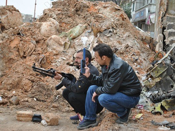 Syrští povstalci. Ilustrační foto