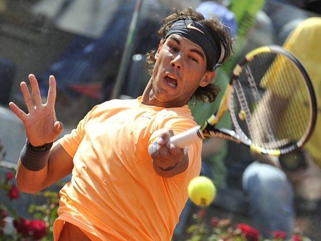 Rafael Nadal na turnaji Masters v Římě.