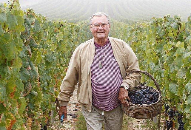 Dánský princ Henrik na své vinici